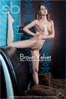Nikia A in Brown Velvet gallery from EROTICBEAUTY by Rylsky