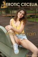 Cecelia in After the Rain gallery from EROTICCECELIA by Volkov