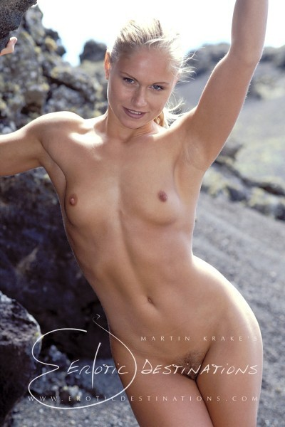 Susan - `Volcanic Sceneries` - by Martin Krake for EROTICDESTINATIONS