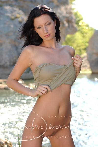 Lisa - `Green Top` - by Martin Krake for EROTICDESTINATIONS
