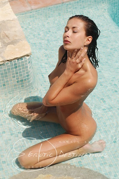 Melissa - `Pool` - by Martin Krake for EROTICDESTINATIONS
