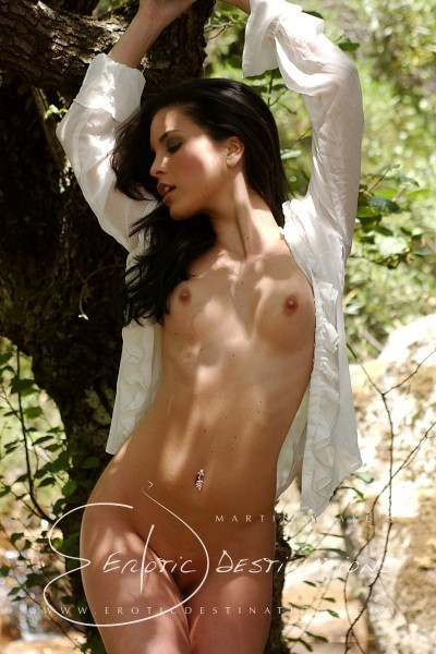 Nella - `White Blouse` - by Martin Krake for EROTICDESTINATIONS