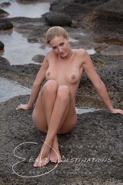 Leslie - `Tide Pools` - by Martin Krake for EROTICDESTINATIONS
