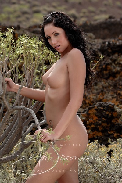 Denise - `Spurge Bush` - by Martin Krake for EROTICDESTINATIONS