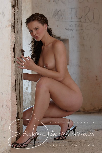 Mirjana - `Empty Rooms` - by Martin Krake for EROTICDESTINATIONS