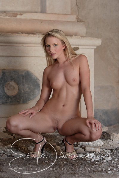 Stefanie - `Chapel` - by Martin Krake for EROTICDESTINATIONS