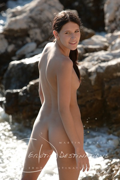 Fabienne - `Pebble Beach` - by Martin Krake for EROTICDESTINATIONS