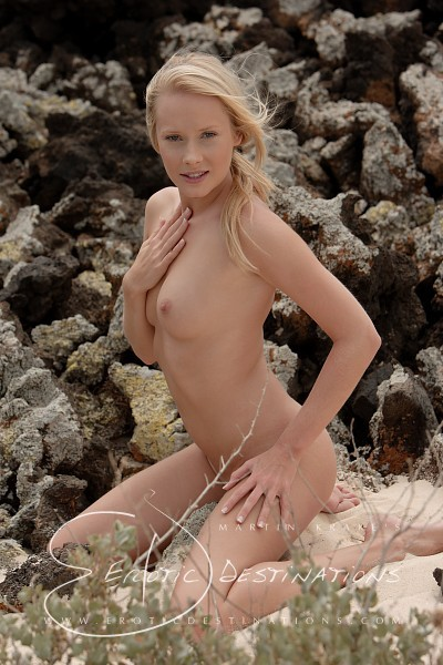 Carina in Lava Stones gallery from EROTICDESTINATIONS by Martin Krake