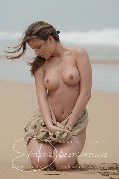 Nicola - `Brown Cloth` - by Martin Krake for EROTICDESTINATIONS