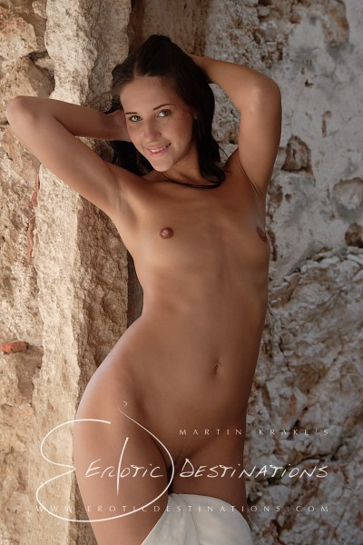Fabienne - `White Cloth` - by Martin Krake for EROTICDESTINATIONS