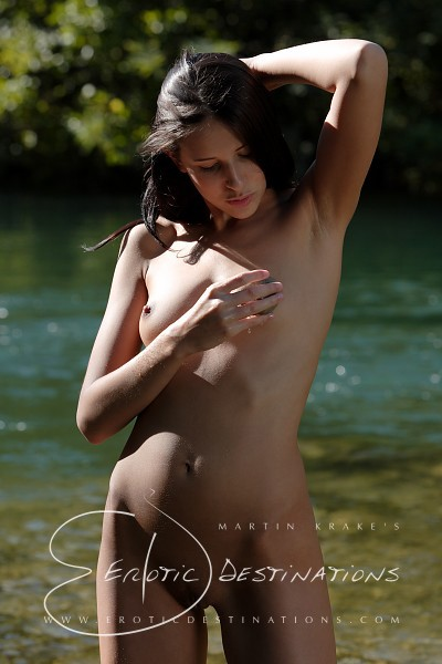 Fabienne - `River` - by Martin Krake for EROTICDESTINATIONS