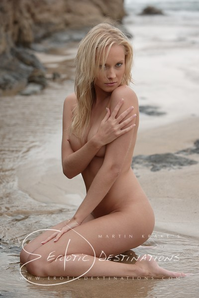 Carina - `Rocky Beach` - by Martin Krake for EROTICDESTINATIONS