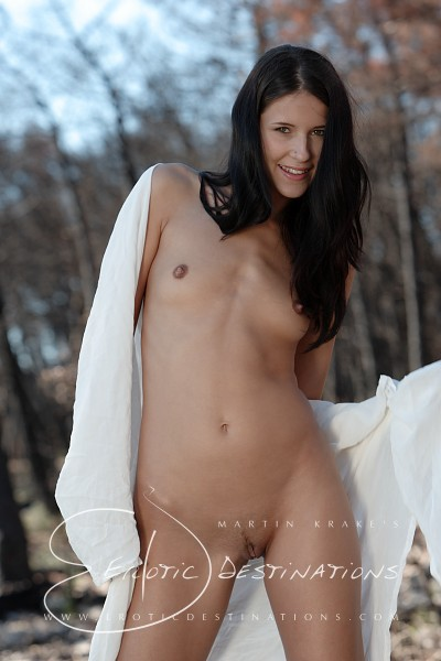Fabienne - `Burnt Forest` - by Martin Krake for EROTICDESTINATIONS