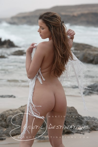 Nicola - `Rocky Beach` - by Martin Krake for EROTICDESTINATIONS