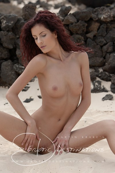 Leanna - `Stone Wall` - by Martin Krake for EROTICDESTINATIONS