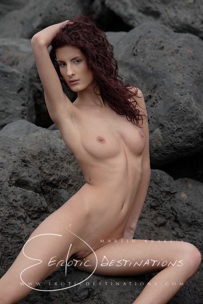 Leanna - `Dark Sand` - by Martin Krake for EROTICDESTINATIONS