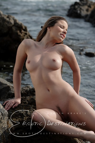 Nicola - `Rocky Coast` - by Martin Krake for EROTICDESTINATIONS