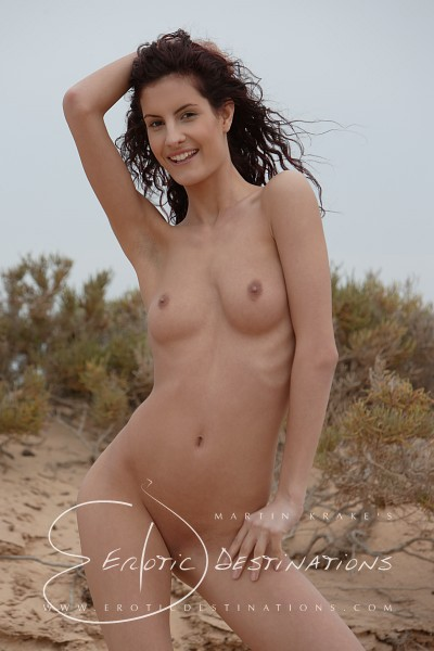 Leanna - `Dunes` - by Martin Krake for EROTICDESTINATIONS