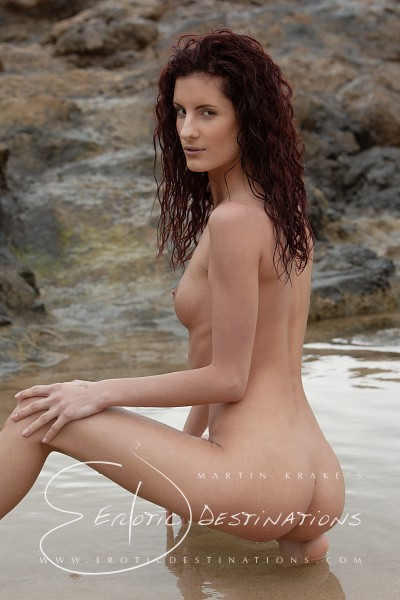 Leanna - `Tide Pool` - by Martin Krake for EROTICDESTINATIONS