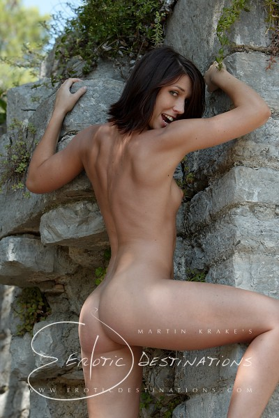 Nikita - `Grey Wall` - by Martin Krake for EROTICDESTINATIONS