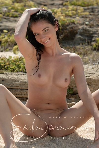 Emily - `Warm Sand` - by Martin Krake for EROTICDESTINATIONS