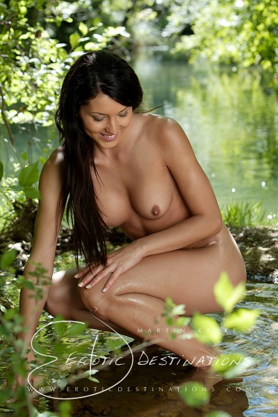 Anna Maria - `Cool Water` - by Martin Krake for EROTICDESTINATIONS