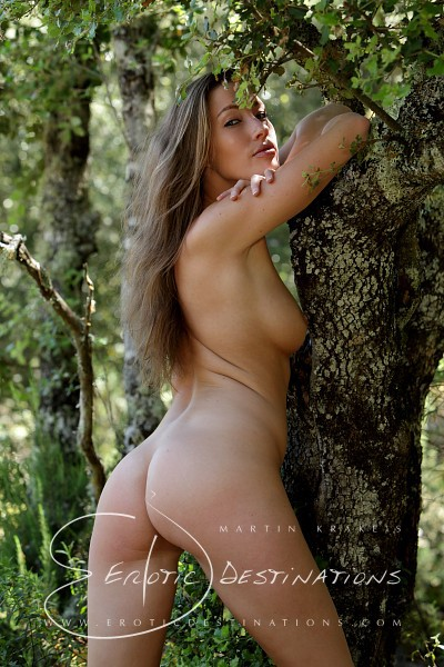 Irena - `Forest` - by Martin Krake for EROTICDESTINATIONS