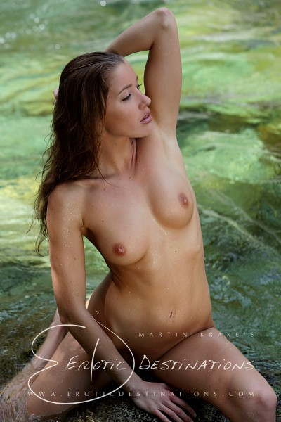 Irena - `Cool Water` - by Martin Krake for EROTICDESTINATIONS