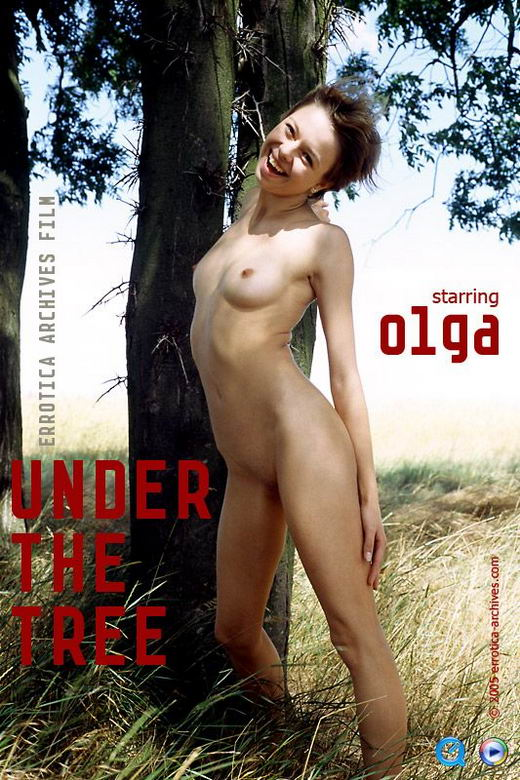 Olga in Under The Tree video from ERRO-ARCH MOVIES by Erro