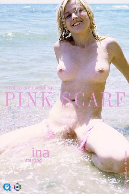 Ina - `Pink Scarf` - by Erro for ERRO-ARCH MOVIES