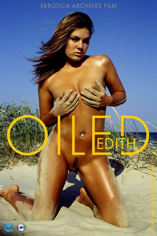 Edith in Oiled video from ERRO-ARCH MOVIES by Erro