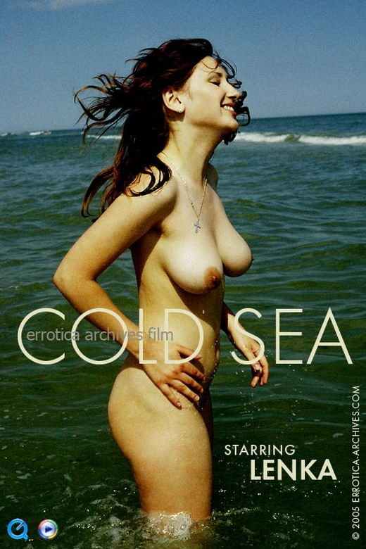 Lenka in Cold Sea video from ERRO-ARCH MOVIES by Erro