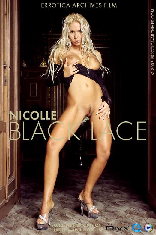 Nicolle in Black Lace video from ERRO-ARCH MOVIES by Erro