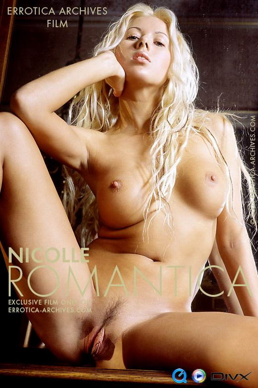 Nicolle in Romantica video from ERRO-ARCH MOVIES by Erro