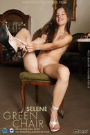 Selene in Green Chair gallery from ERRO-ARCH MOVIES by Erro
