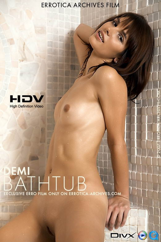 Demi - `Bathtub` - by Erro for ERRO-ARCH MOVIES