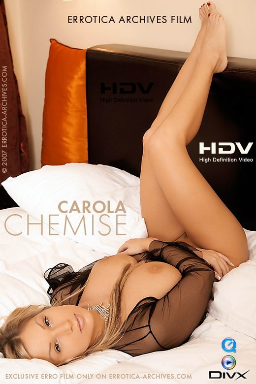 Carola - `Chemise` - by Erro for ERRO-ARCH MOVIES
