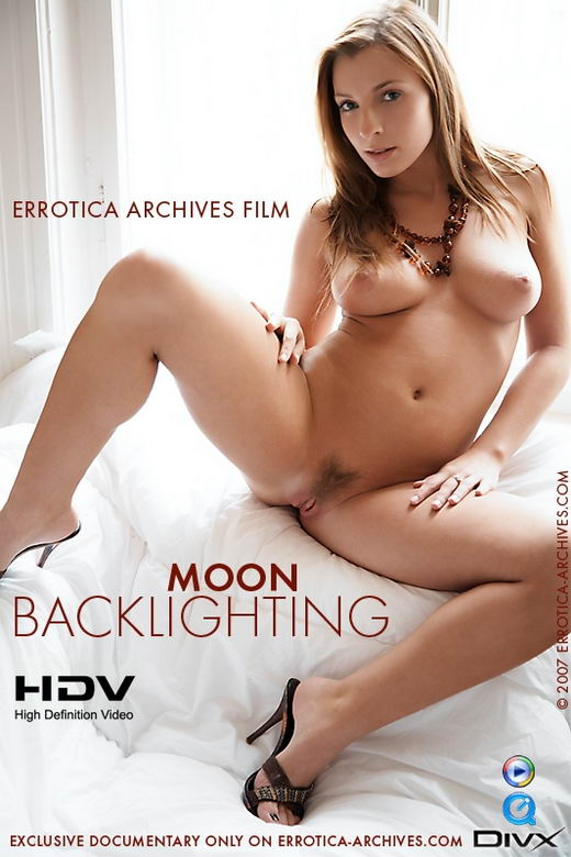 Moon - `Backlighting` - by Erro for ERRO-ARCH MOVIES