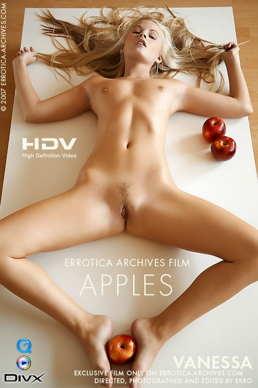 Vanessa - `Apples` - by Erro for ERRO-ARCH MOVIES