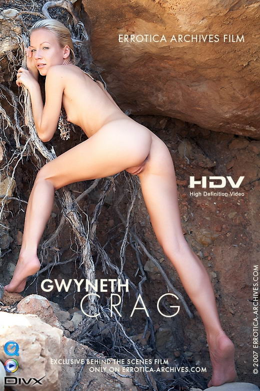 Gwyneth - `Crag` - by Erro for ERRO-ARCH MOVIES