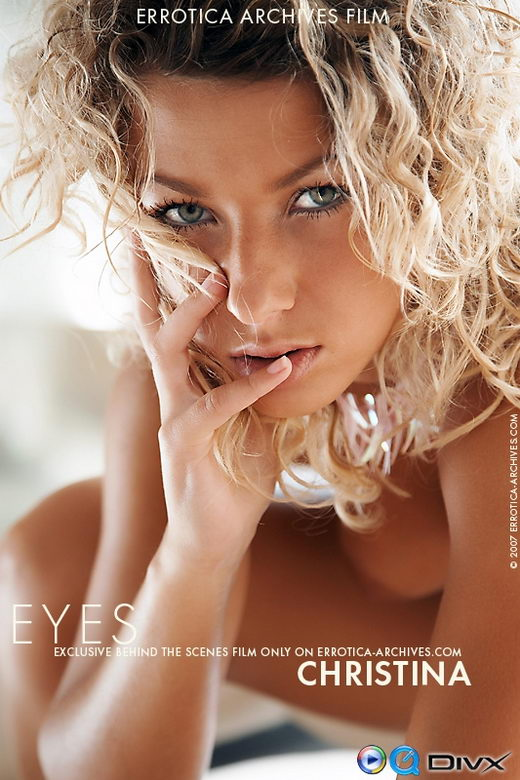 Christina - `Eyes` - by Erro for ERRO-ARCH MOVIES
