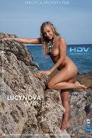 Lucynova in Waves video from ERRO-ARCH MOVIES by Erro