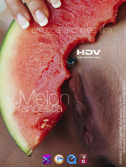 Francesca - `Melon` - by Erro for ERRO-ARCH MOVIES