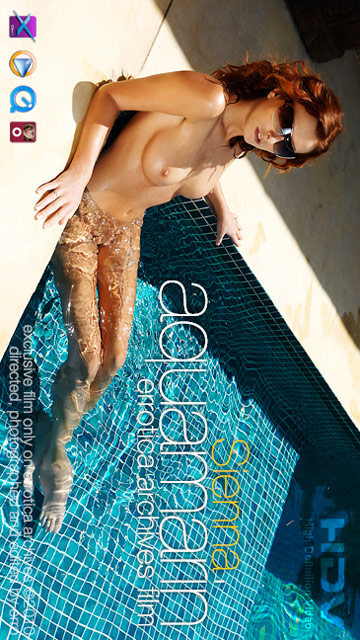 Sienna - `Aquamarin` - by Erro for ERRO-ARCH MOVIES