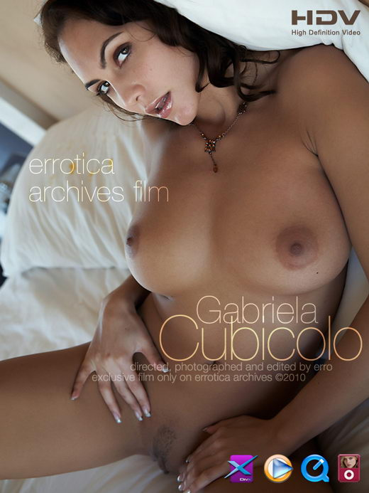 Gabriela - `Cubicolo` - by Erro for ERRO-ARCH MOVIES