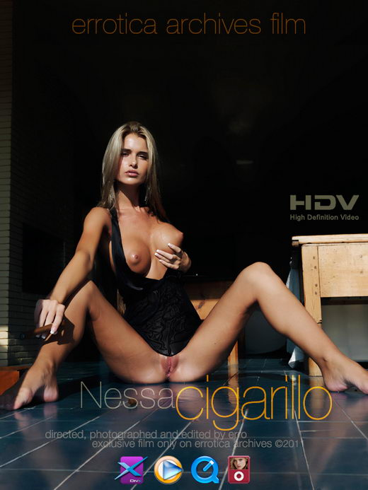 Nessa - `Cigarillo` - by Erro for ERRO-ARCH MOVIES
