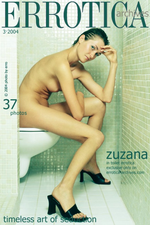 Zuzana - `In Toilet Errotica` - by Erro for ERROTICA-ARCHIVES