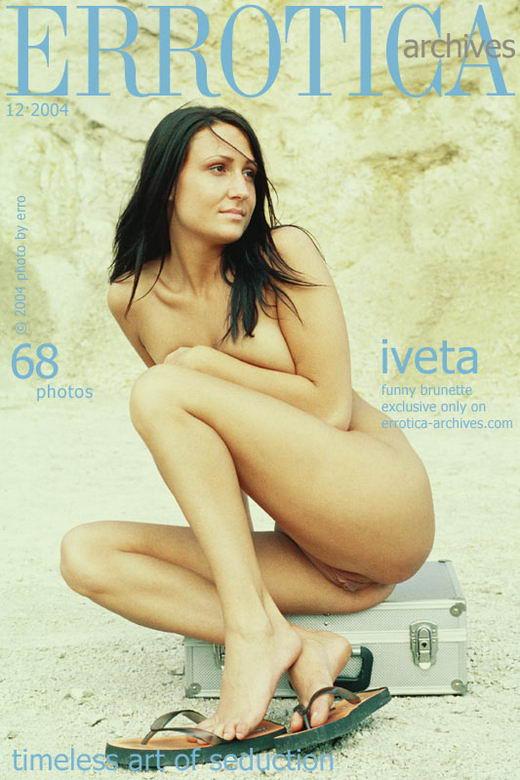 Iveta - `Funny Brunette` - by Erro for ERROTICA-ARCHIVES