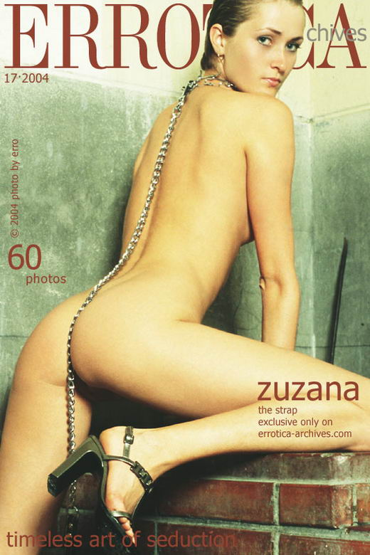 Zuzana - `The Strap` - by Erro for ERROTICA-ARCHIVES