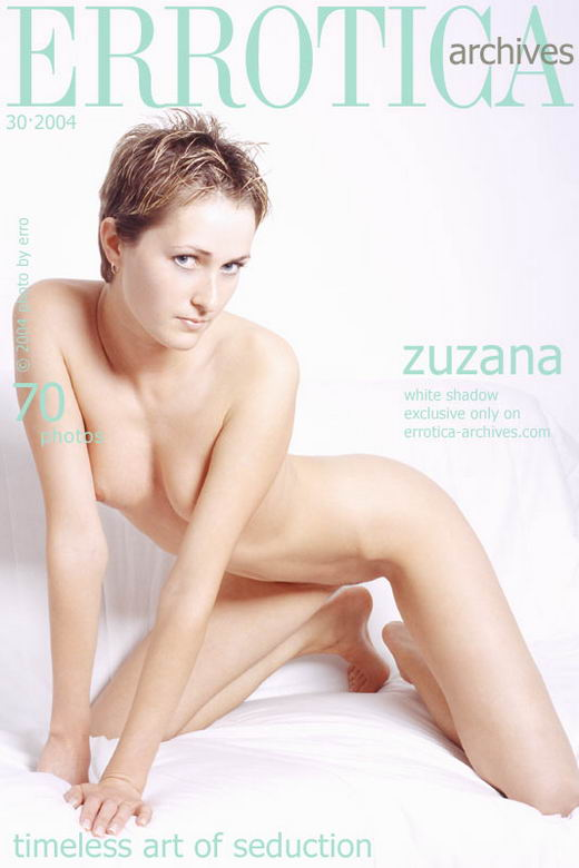 Zuzana - `White Shadow` - by Erro for ERROTICA-ARCHIVES
